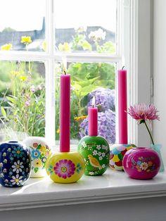 Candlesticks Coisas da Doris