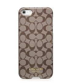 COACH iPhone case... only if I had an iPhone, unfortunately... hate Apple. Sorry.