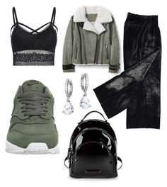 """""""comfort vs. stylish"""" by ilseok on Polyvore featuring Kate Spade, NIKE and Kendall + Kylie"""