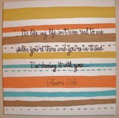 Gilmore Girls inspired art