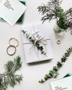 Get in the holiday spirit! As you're buying gifts, add a personal touch with Unique 50 Christmas gift wrapping ideas! Upcycled Kraft Paper Gift Wrapping Id Unique Christmas Gifts, Christmas Gift Wrapping, Christmas Presents, Christmas Time, Holiday Gifts, Christmas Crafts, Christmas Decorations, Christmas Traditions, Green Christmas