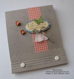 Mini Matchbook Album - Stampin' Connection