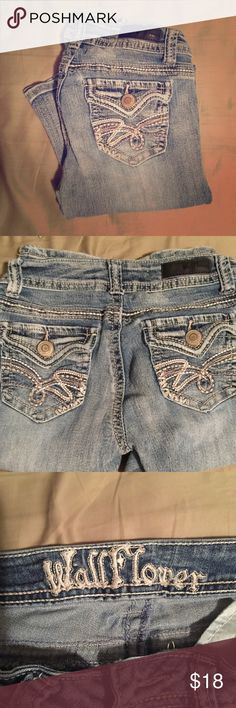 Wildflower Jeans Selling my pair of Wildflower jeans. Size 1. They're in great condition. One of the brands I liked before I could afford miss me's. Wildflower Jeans Boot Cut