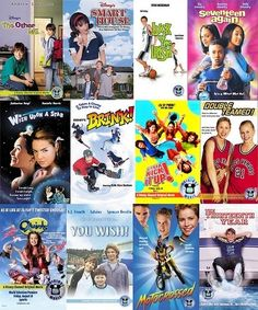 Disney Classic Original Movies (Smart House, Luck of the Irish, Double Teamed, Motocrossed...sigh)