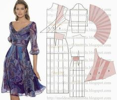 Patterns of elegant dresses. Discussion on LiveInternet - Russian Online Diaries Service