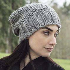 Ravelry: Easy Living Slouch pattern by Shannon Dunbabin Knit Slouchy Hat Pattern, Knit Headband Pattern, Baby Hat Patterns, Easy Knitting Patterns, Knitting Projects, Free Knitting, Knitted Hats, Crochet Hats, Slouch Hats