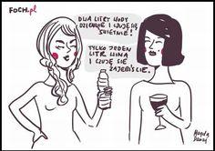 Można też dwie setki wódki...