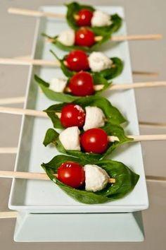 mozzarela, cherry tomato