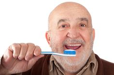 Keeping a Senior's Teeth Healthy  Find out more here! http://www.retireathome.com/news/keeping-a-seniors-teeth-healthy/  #senior #safety #health #aids #tools