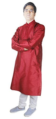 Mens Fashion Outwear Kurta Pajama Shirt Indian Dress Wedding Red Size M RoyaltyLane http://www.amazon.co.uk/dp/B017MA5HQW/ref=cm_sw_r_pi_dp_7TJQwb1W0E858