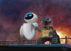 WALL-E and EVE - WALL-E