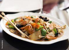 Receta para preparar Chop Suey con pollo