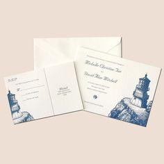 INVITATIONS lighthouse invite