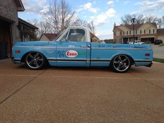 chevy c10 shop truck - esso
