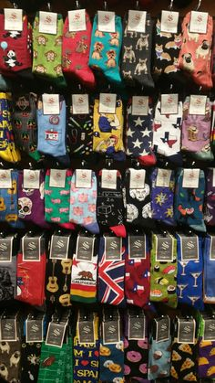 Socks and Soles. Galleria mall bottom level, near Belk. Each pair about $12 (ish)