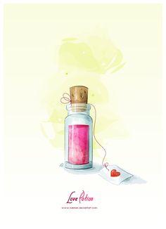 Love Potion by NaBHaN.deviantart.com on @deviantART