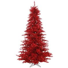 65 Red Fir Medium Profile Artificial Christmas Tree  Unlit * You can get more details by clicking on the image.