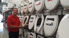 Need A Toilet Seat? We have a large selection of toilet seats! #Billsacehardware #toilet #toiletseats