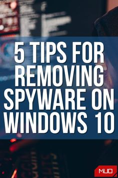 Do you suspect that your PC is affected by spyware? Are you confused about the exact steps that you need to take to remove it? Well, do not worry. In this guide, you will learn all the tips and tricks to remove spyware from Windows 10 for good. #Windows #Windows10 #Microsoft #HowTo #Removal #Spyware #Malware #Security #Safety Computer Basics, Computer Tips, Computer Science, Handy Tips, Helpful Tips, Iq Quizzes, Spyware Removal, Computer Maintenance, Windows Defender