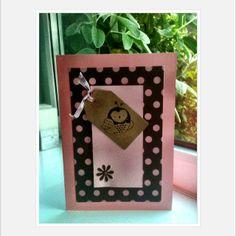 Cute craft card