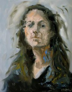 """Saatchi Online Artist Fred Bell; Painting, """"Woman"""" #art"""