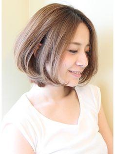 おとな女子・30代・40代にオーダー多いボブスタイル - 24時間いつでもWEB予約OK!ヘアスタイル10万点以上掲載!お気に入りの髪型、人気のヘアスタイルを探すならKirei Style[キレイスタイル]で。