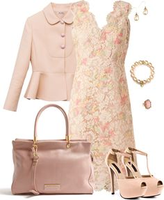 """Floral Lace"" by corenna-obrien ❤ liked on Polyvore"