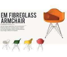EM Fibreglass Armchair
