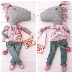 'Clovelly' Horse Doll & Clothes PDF Sewing Pattern   Craftsy