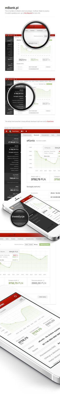 mBank.pl client area / Paweł Kadysz