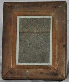 "Vintage 5.25"" x 4"" Wooden Contact Printing Frame - Alternative Processes"