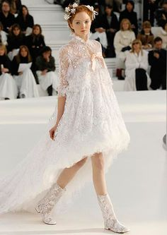 Chanel's bridal collection at Paris Haute Couture 2012 - Photo 2 | Celebrity news in hellomagazine.com