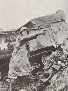 Advancing German Infantry, Battle of the Bulge, December 1944.