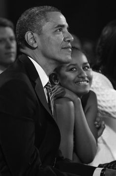 Mr. President OBAMA IZzz Her DADDY,,, Best Daddy In The World #Awesome-Pic #lalalandnewzzzflash