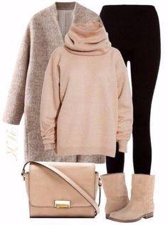 Moda Casual 2019 Tendencias For 2019 Look Fashion, Winter Fashion, Fashion Outfits, Womens Fashion, Fashion Design, Winter Outfits, Casual Outfits, Cute Outfits, Winter Clothes