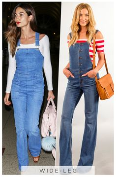 5 Days, 5 Ways: How Celebs Wear Overalls Without Looking Like a Farmer  ESC, Overalls 5 Ways