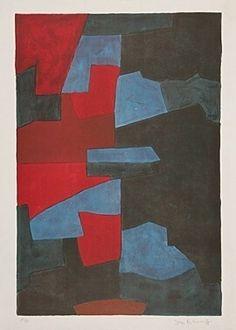 Lithograph - Serge Poliakoff -
