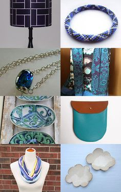 Who likes Blueberries? Not the fruit, I mean this Purple African Print Lampshade that appears on this wonderful Etsy Treasury list --Pinned with TreasuryPin.com