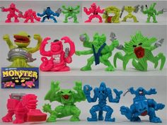 Monster in my Pocket - Space Aliens - Complete Set X 16 Space Aliens, My Pocket, Dinosaur Stuffed Animal, Toys, Animals, Ebay, Activity Toys, Animaux, Animal