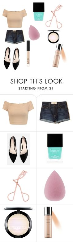 """Daily outfit #3"" by melanie256 ❤ liked on Polyvore featuring Alice + Olivia, Hollister Co., MANGO, Butter London and NARS Cosmetics"
