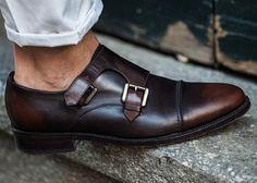 MonkStrap || Men's leather shoes