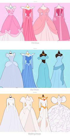Disney Princess Fashion, Disney Princess Drawings, Disney Princess Art, Disney Princess Dresses, Disney Drawings, Disney Artwork, Disney Fan Art, Image Princesse Disney, Disney World Characters