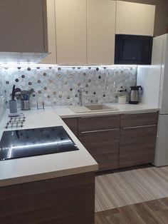 Modern Kitchen Design, Home Decor Kitchen, Little Houses, My Dream Home, Decoration, Ikea, Interior Decorating, Sweet Home, Kitchen Cabinets