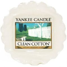 Yankee Candle - Clean Cotton → Meh, I didn't hate it but I didn't enjoyed it either