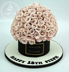A bouquet of cake :p