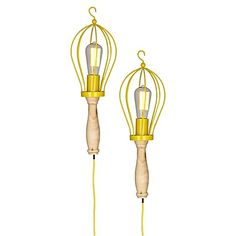 130 Hanging Torch Lamp (Set of 2) by Amalfi