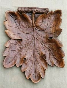 Woodworking Tools Archives - Page 163 of 173 - Wooden Lathe Art Wood Carving Designs, Wood Carving Art, Wooden Art, Wooden Bowls, Whittling Wood, Chip Carving, Hand Carved, Carved Wood, Leaf Shapes