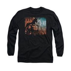 Batman Arkham City - City Knockout Adult Long Sleeve T-Shirt