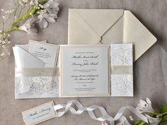 Custom listing 100 blanc dentelle mariage par forlovepolkadots