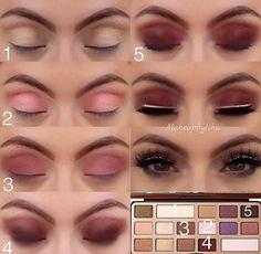 Pin by Jaę Mayorga on Make up ;) in 2019 Makeup Tips, Beauty Makeup, Beginners Eye Makeup, Makeup Eye Looks, Pinterest Makeup, School Makeup, Beauty Tutorials, Makeup Forever, Eye Make Up
